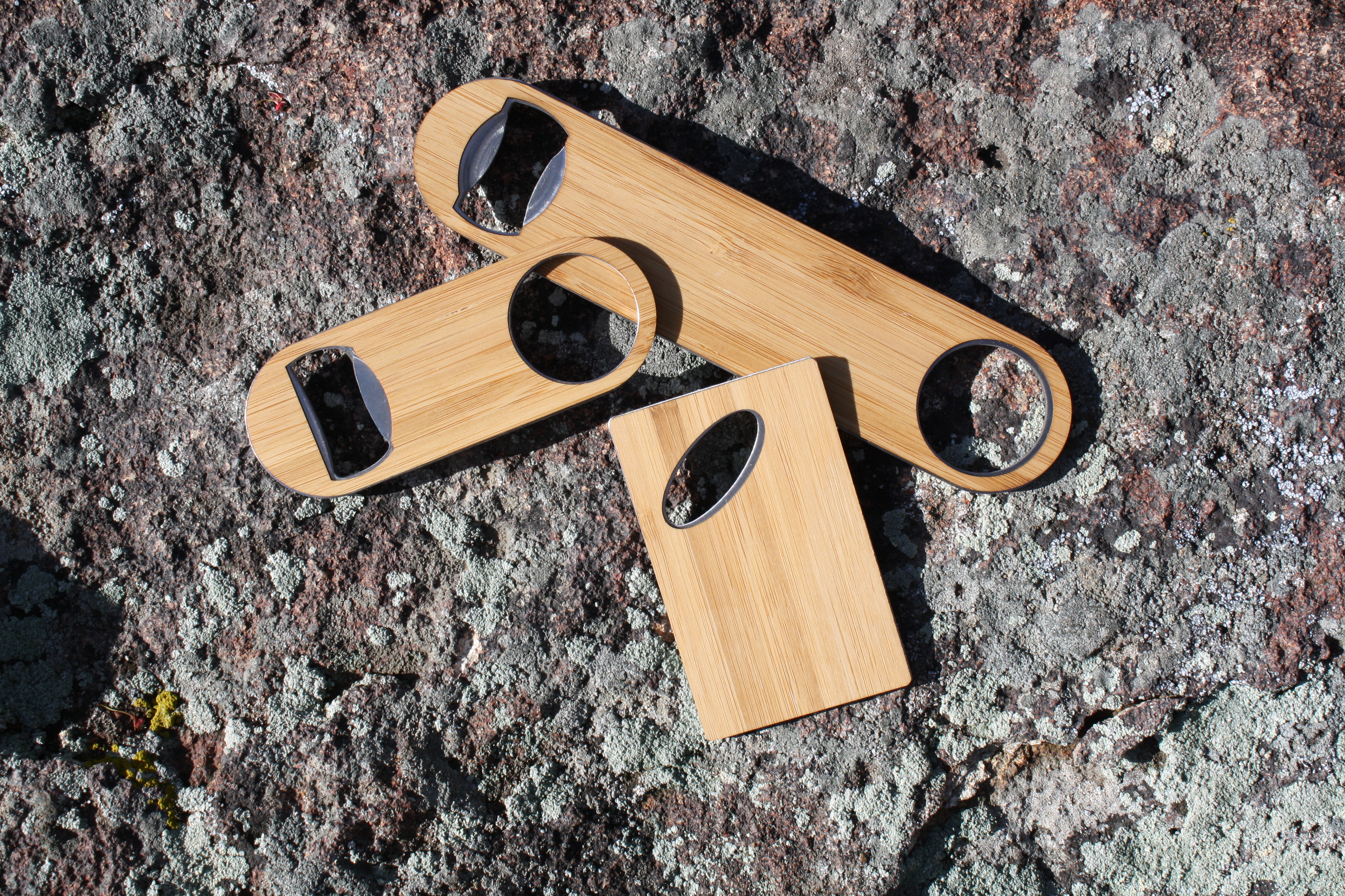 Bar Accessories Set - Bottle Openers in Bamboo