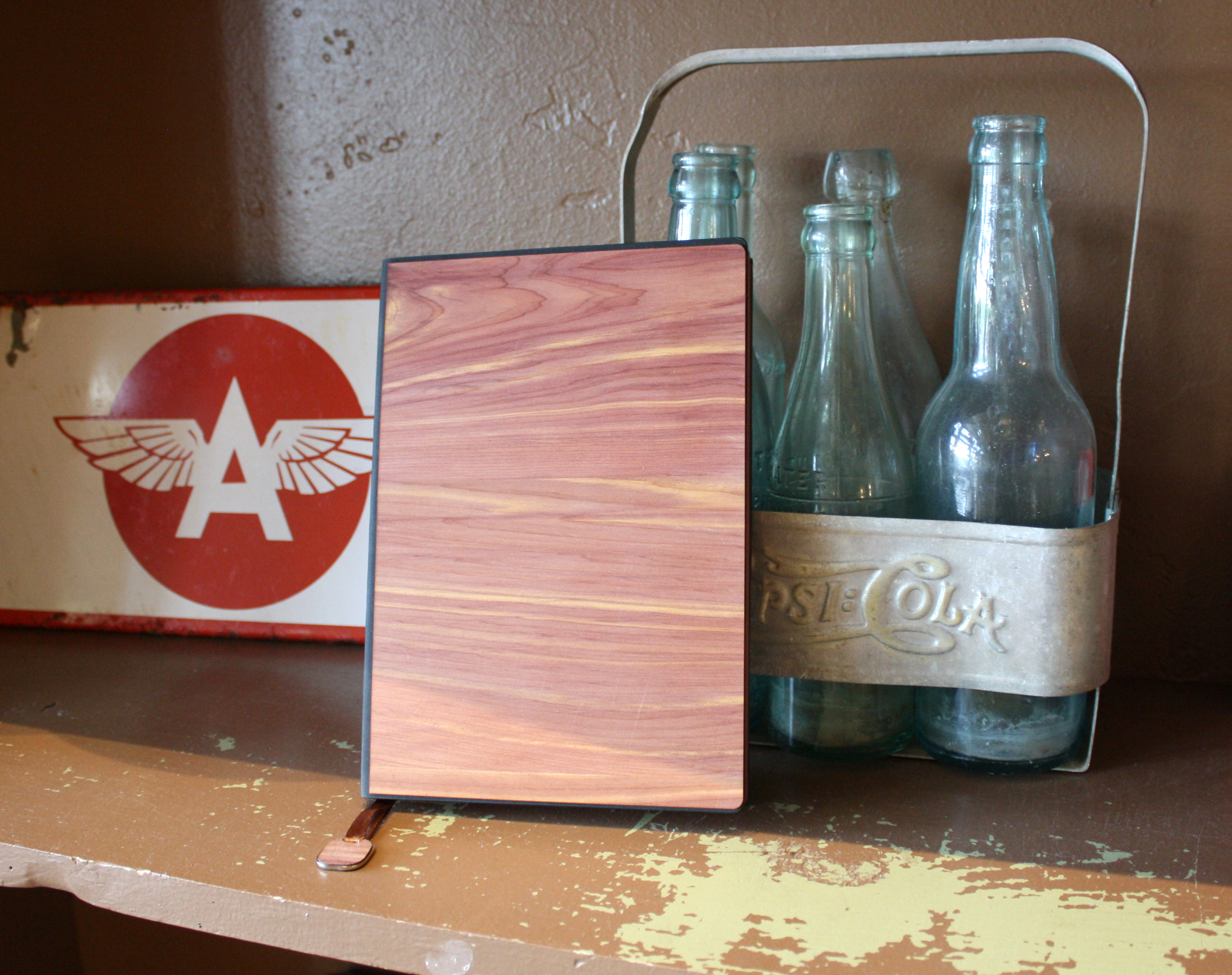 New A5 Journal in Aromatic Cedar