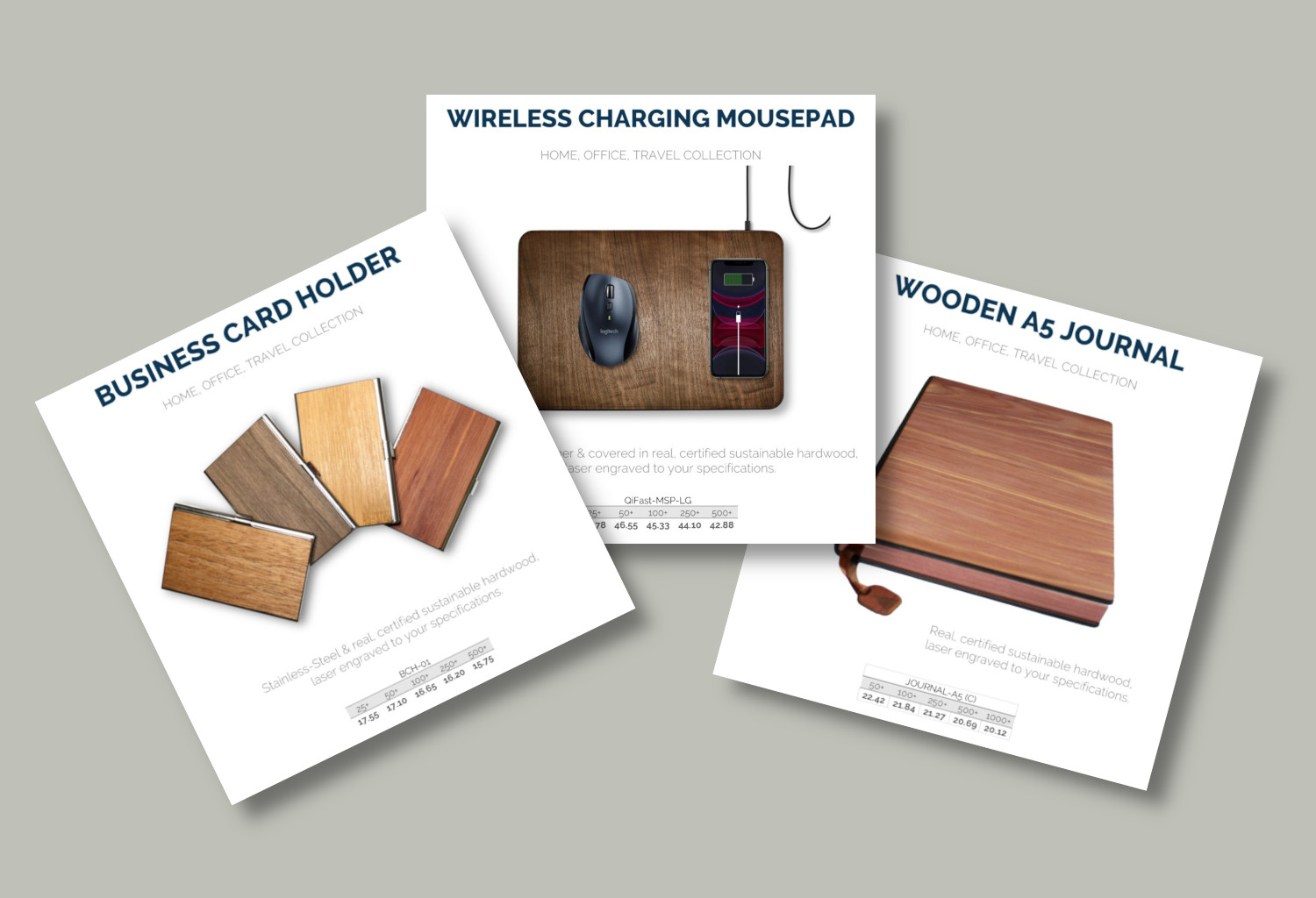 NEW Distributor Resources: Blind product cards for your email and social marketing.