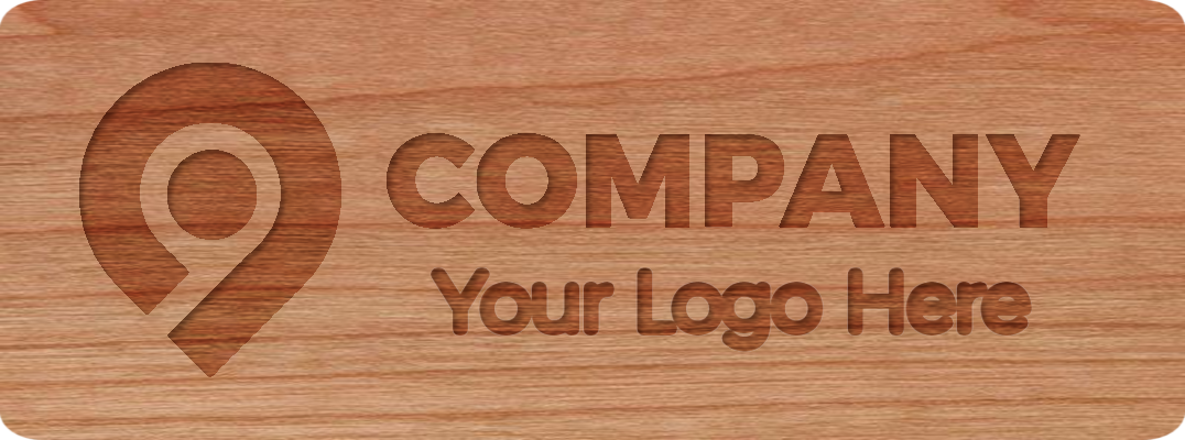 Your logo here, self promo sample sticker