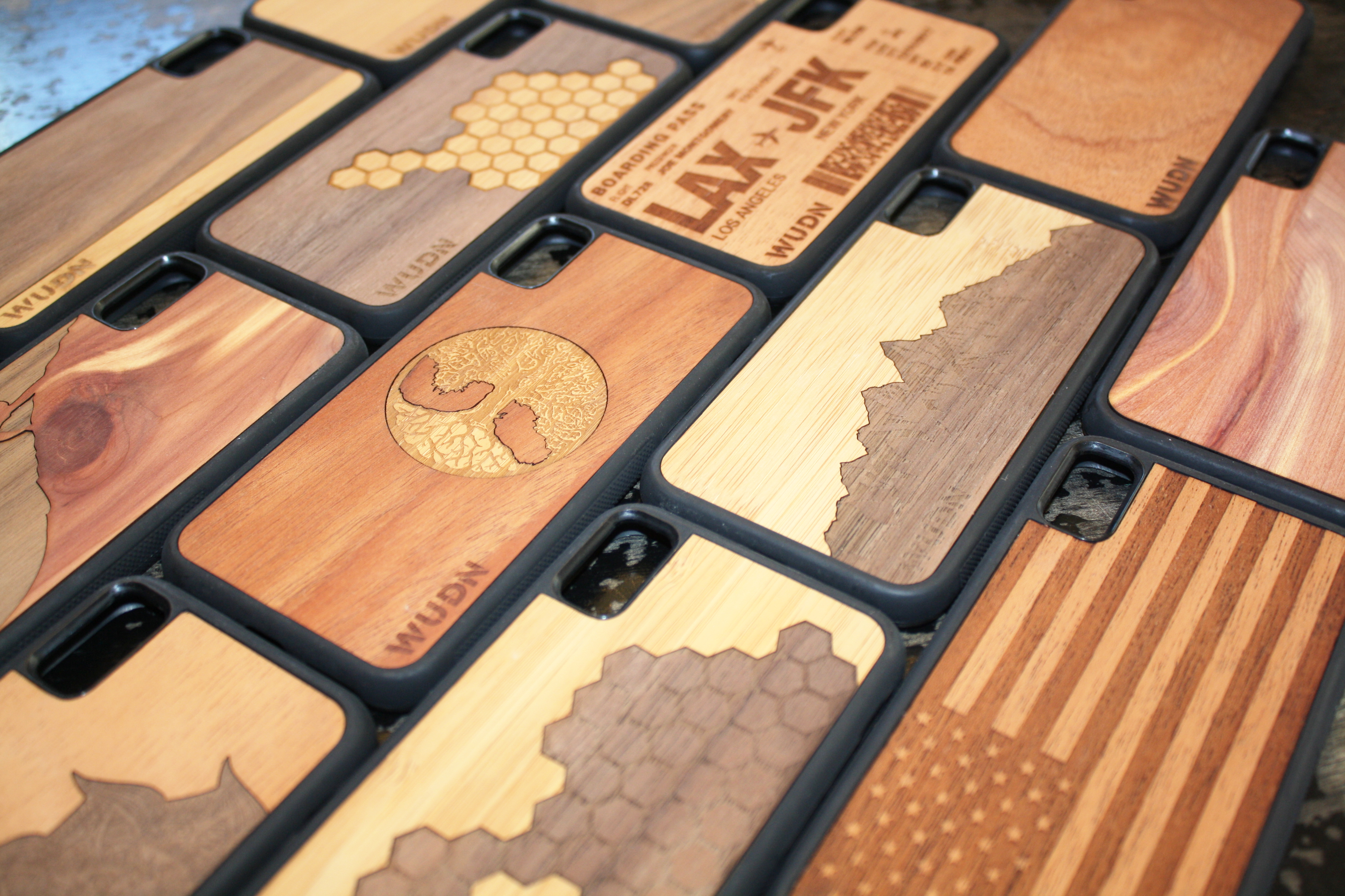 Real Wood Phone Cases Galore