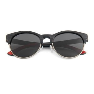 W-W3007 Series Recycled Skateboard Retroshade Wooden Sunglasses